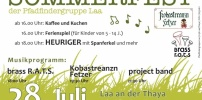 Gratulation an die Laaer Pfadfinder: Tolles Sommerfest
