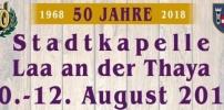 Gratulation: 50 Jahr Fest Stadkapelle Laa