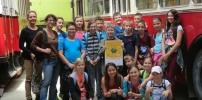 proLAA-Umweltstadträtin gratuliert der VS Laa an der Thaya, die als Klimameilen-Sieger ausgezeichnet worden ist